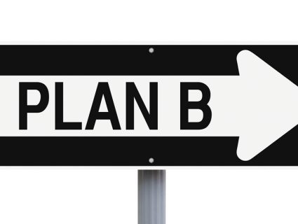 Plan B sign for business to business collections
